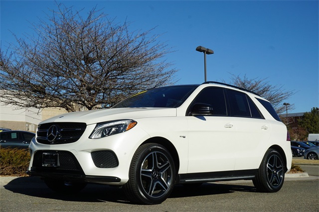 Certified Pre Owned 2017 Mercedes Benz Gle Gle 43 Amg 4d Sport