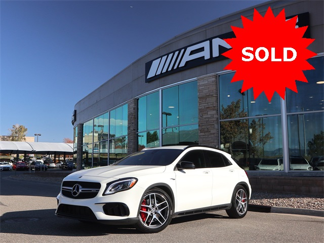 Certified Pre-Owned 2018 Mercedes-Benz GLA AMG® GLA 45 SUV