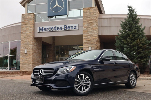 Charming Pre Owned 2018 Mercedes Benz C Class C 300