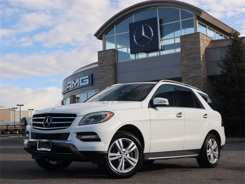 Pre-Owned 2015 Mercedes-Benz M-Class ML 350