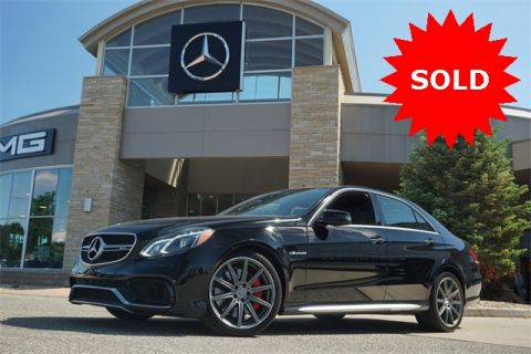 Certified Pre-Owned 2016 Mercedes-Benz E-Class AMG® E 63 S Sedan