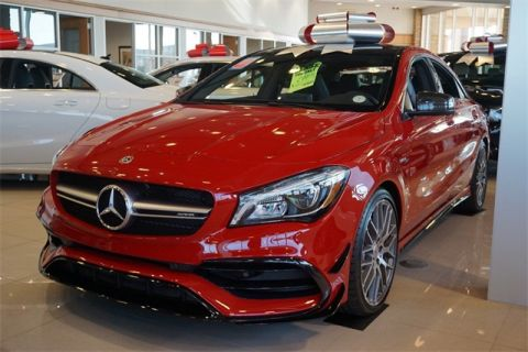 Pre-Owned 2018 Mercedes-Benz CLA AMG® CLA 45 Coupe