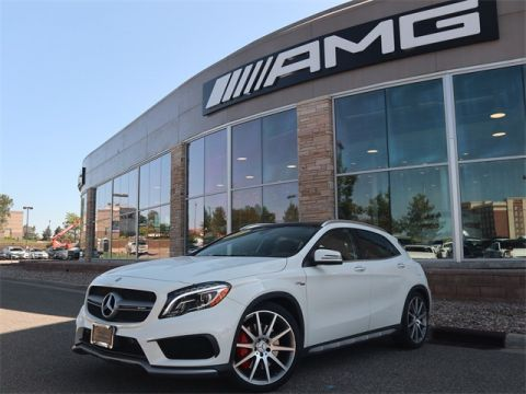 Certified Pre-Owned 2017 Mercedes-Benz GLA AMG® GLA 45 SUV