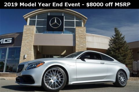 Pre-Owned 2019 Mercedes-Benz C-Class AMG® C 63 Coupe